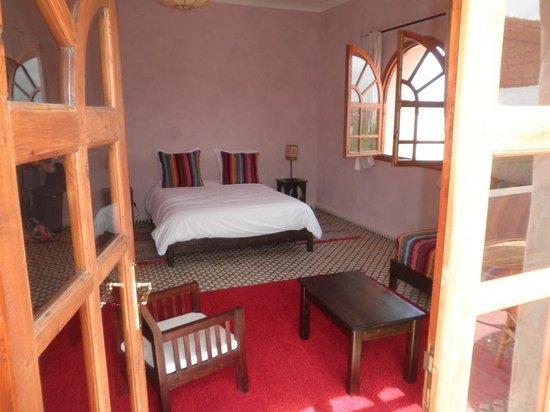 Dar Essaada: notre chambre