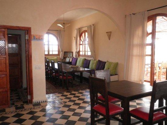 Dar Essaada: la salle à manger