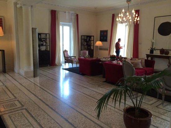 Villa La Vedetta : Sitting Area - lovely and comfortable!