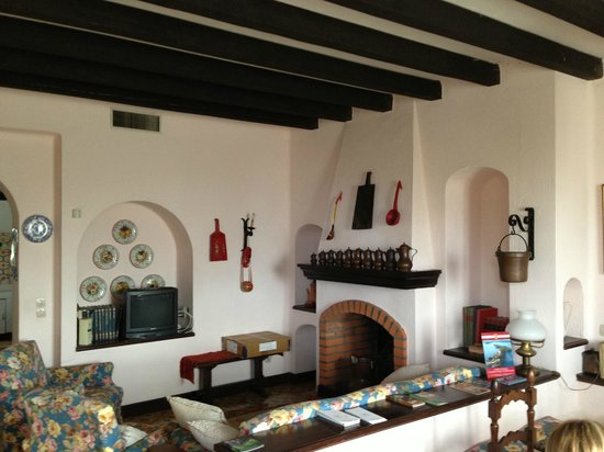 B&B La Scovola: The lounge area / breakfast room