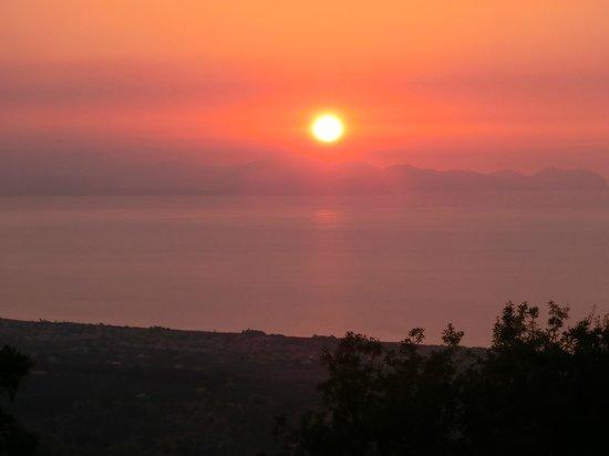 Annu'cca: Puesta de sol desde el alojamiento