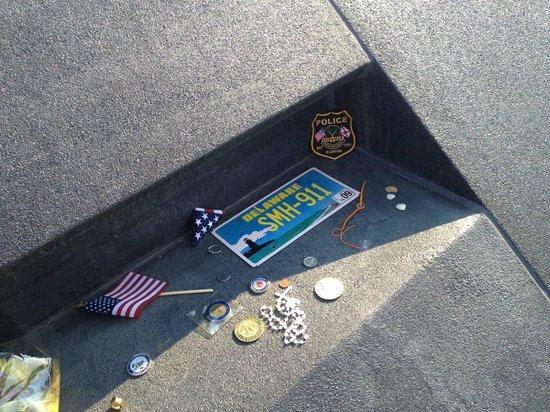 Flight 93 National Memorial: Momentos left by visitors