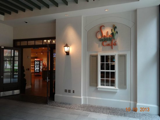 Selu Garden Café: Sulu Garden Cafe inside Harrah's Casino, Cherokee, NC