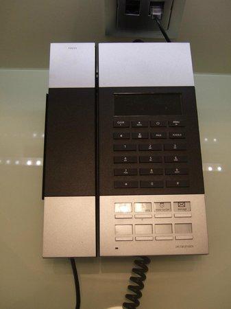 Hotel Santo: Funky telephone!