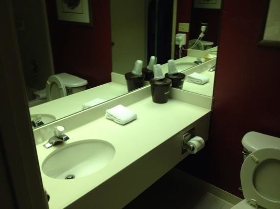Lakeside Inn and Casino: bathroom