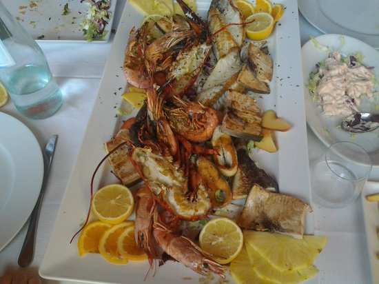 Palosco, Olaszország: grigliata  Buonissima  di pesce