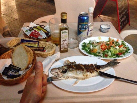 Chicos: Fresh fish