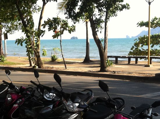 Aonang Villa Resort: View from the hotel restaurant