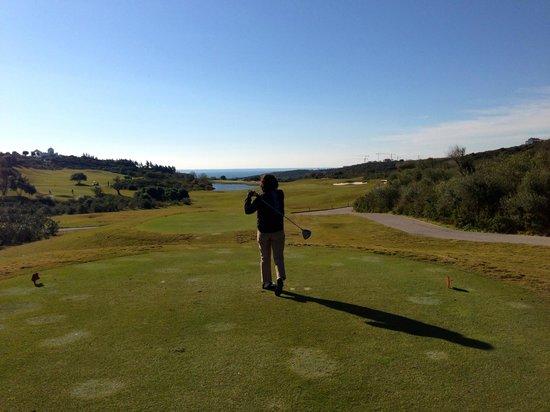 Finca Cortesin Hotel Golf & Spa: Uno de los hoyos del golf