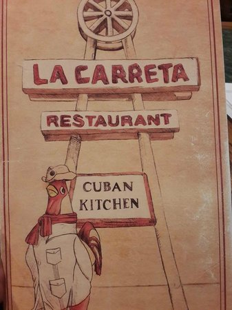 La Carreta Restaurant: Menu