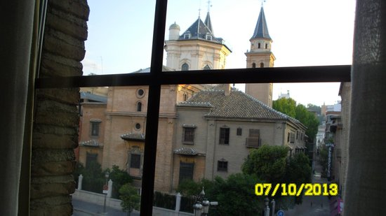 Hotel Las Almenas: veduta dall'hotel