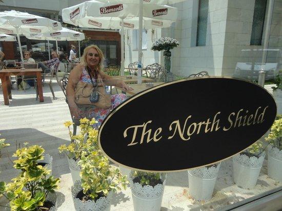 The North Shield Pub: Frente ao restaurante