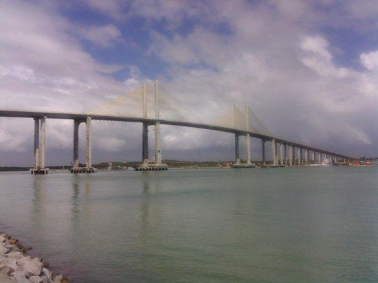 Araca Praia Flat Beira Mar: Vista do Ponte