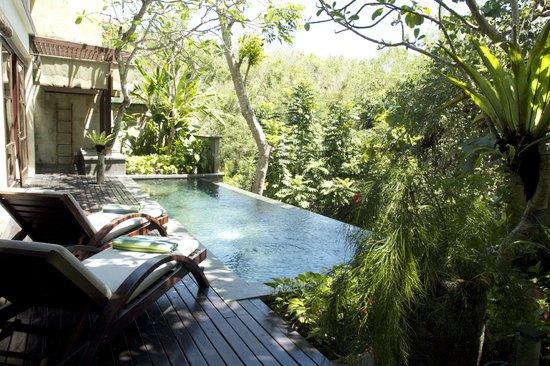 Gending Kedis Villas & Spa Estate: Back of the Villa