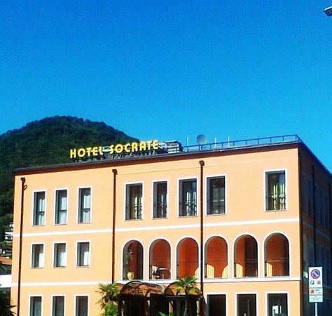 Hotel Socrate : facciata
