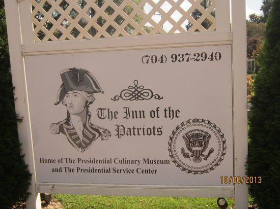 The Inn of the Patriots B & B: The Inn of the Patriots