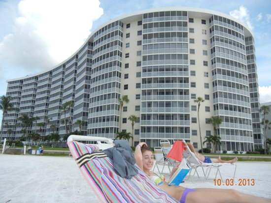 Crystal Sands: Beach view
