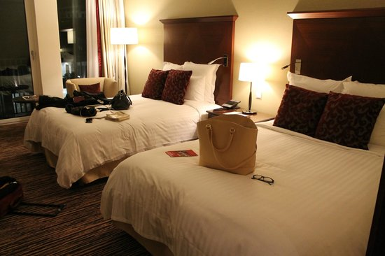Berlin Marriott Hotel : Habitacion doble