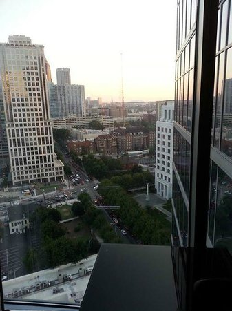 Loews Atlanta Hotel: The view from my room.