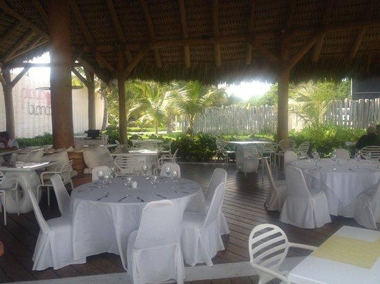 Playa Blanca Restaurant: Interno