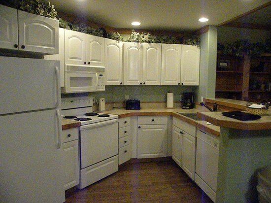 White Oak Lodge & Resort: kitchen