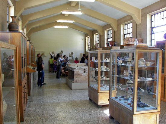 Archaeological Museum of Corinth: Display Room