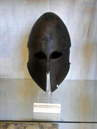 Archaeological Museum of Corinth: Spartan Helmet