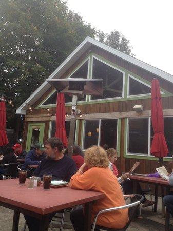 Wild Tomato: Outdoor dining / Front door