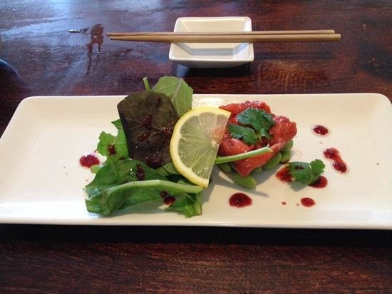 Kozo Cafe: smoked salmon