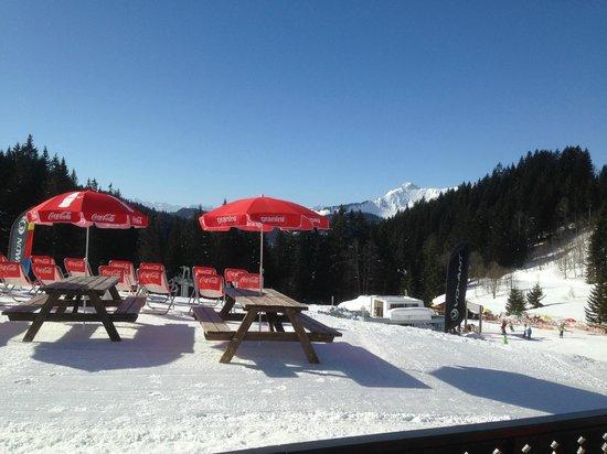 La Chanterelle Bar Restaurant : Outside terrace