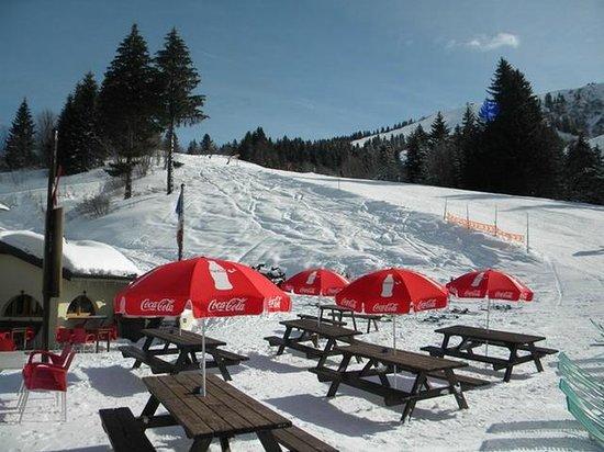 La Chanterelle Bar Restaurant : Outside view