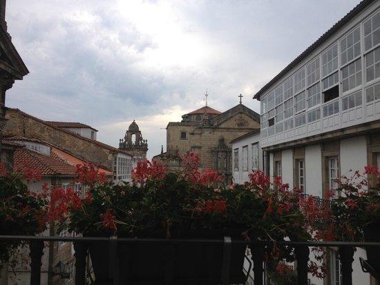 Hotel Gastronómico San Miguel: Vista da sacada do quarto