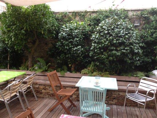 Hotel Gastronómico San Miguel: restaurante - área externa