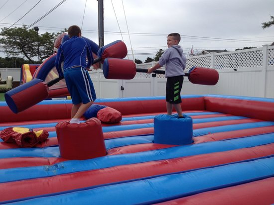 Cape Cod Inflatable Park : fun fun