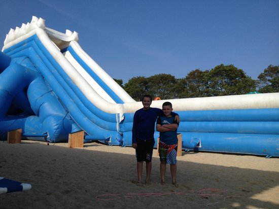 Cape Cod Inflatable Park : Big slide