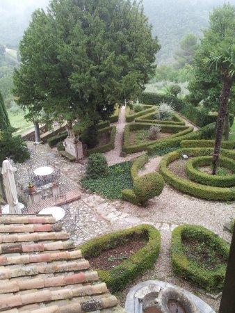 Villa Milani - Residenza d'epoca: veduta dalla nostra stanza