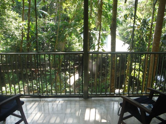 Daintree EcoLodge & Spa: Balcony in our room
