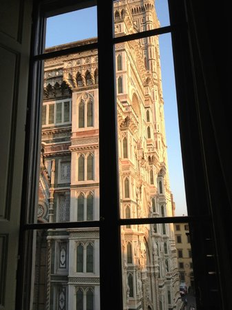 Palazzo Gamba: Hotel Room Window View