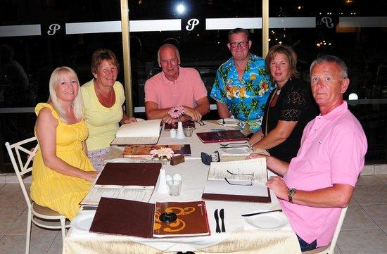 Promessa & Promises Restaurant : last night nosh up