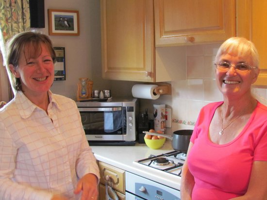 Brockville Bed and Breakfast: Helen's kitchen is the heart of the home. She is there to help make your stay a joy.