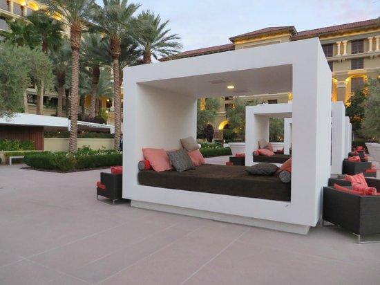 pool cabana interior. Green Valley Ranch Resort And Spa: Pool Cabanas Cabana Interior O