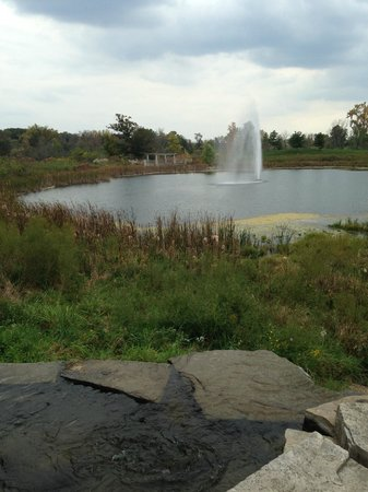 Chesterton, IN: main pond/fountain