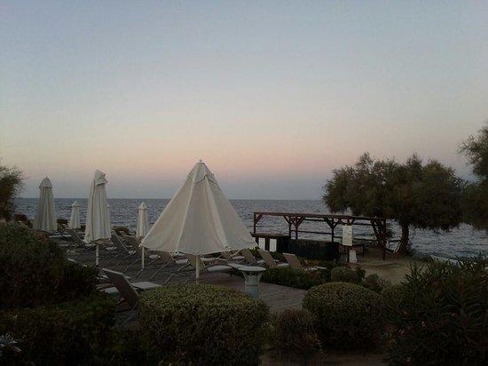 Club Med Sant'Ambroggio : vue de notre bungalow