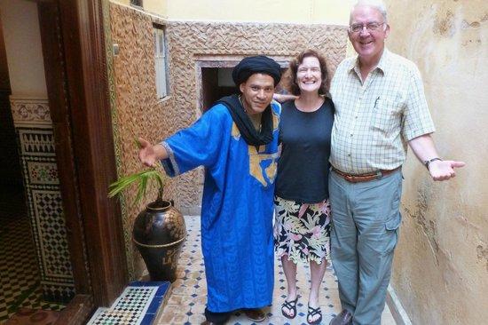 Riad La Bague de Kenza : fouad was so wonderful to us
