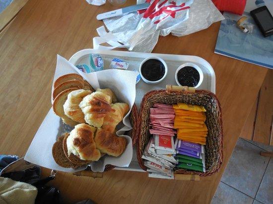 Las Golondrinas Apart Hotel: El Desayuno