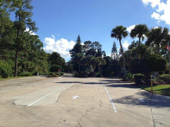 Sunshine Travel RV Resort : Registration Parking