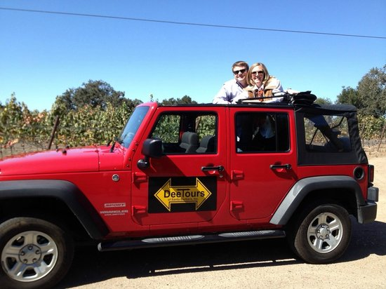 DeeTours of Santa Barbara: Having the option to put the top down was a great touch!