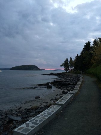 Sunrise from Shore Path