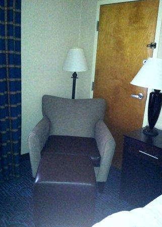Clarion Inn: Pretty nice chair, comfy!