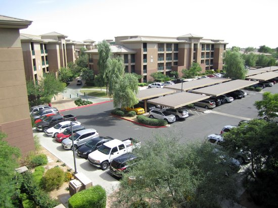 The Westin Kierland Villas: View from the front entrance of 6406